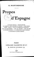 Illustration de la page Ernest Martinenche (1869-1939) provenant de Wikipedia