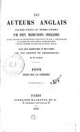 Illustration de la page Essay on criticism provenant de Wikipedia