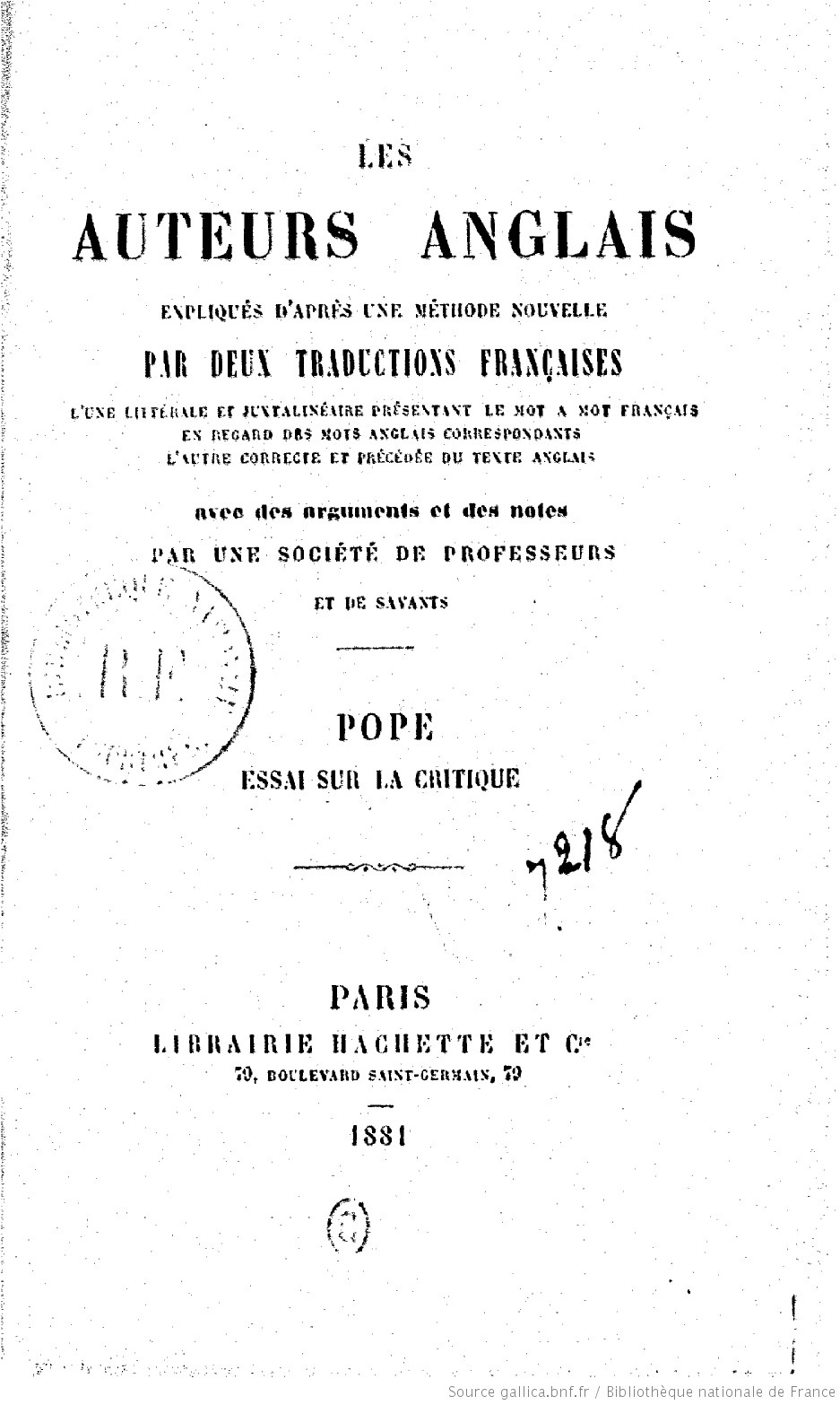 An essay on criticism pope pdf
