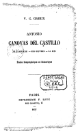 Image from Gallica about Antonio Cánovas del Castillo (1828-1897)