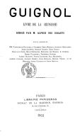 Image from Gallica about Guignol (Paris. 1863)