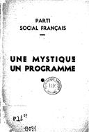 Illustration de la page Parti social français provenant de Wikipedia