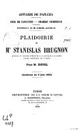 Bildung aus Gallica über Stanislas Brugnon (1834-1908)