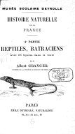 Image from Gallica about Amphibiens