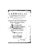 Illustration de la page Gabriel Fallope (1523-1562) provenant de Wikipedia