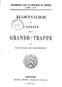 Illustration de la page Abbaye de la Trappe. Soligny-la-Trappe, Orne provenant de Wikipedia