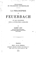 Image from Gallica about Ludwig Feuerbach (1804-1872)