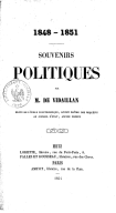 Illustration de la page Pierre-Antoine de Vidaillan (1798-1876) provenant de Wikipedia