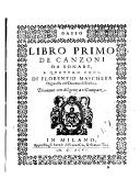 Illustration de la page Fiorenzio Mascara (1540?-1580?) provenant de Wikipedia