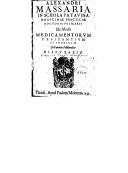 Illustration de la page Alessandro Massaria (1510-1598) provenant de Wikipedia