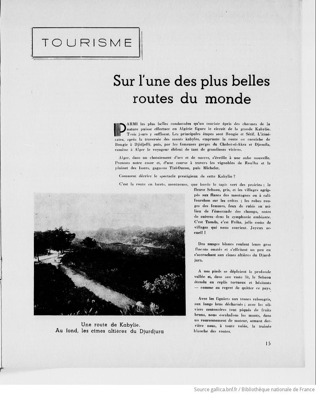 L'Auto nord-africain : organe mensuel de défense et de propagande des intérêts des automobilistes dans l'Afrique du Nord | 1939-03 | Gallica