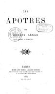 Tome 2. Les apôtres  1866