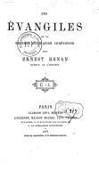 Tome 5. Les évangiles et la seconde génération chrétienne  1877