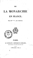 Illustration de la page D **** (ancien préfet, 17..-18..) provenant de Wikipedia