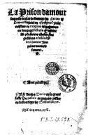 Image from Gallica about Cárcel de amor