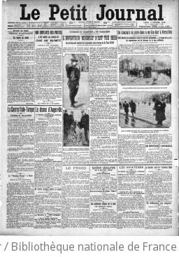 Le Petit journal (1912) over de fatale sprong