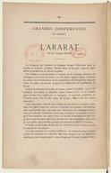 L'Ararat  G. Bapst. 18..