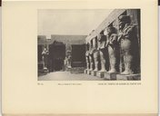 Karnak  Les temples de Karnak  Fragment du dernier ouvrage de G. Legrain. 1931