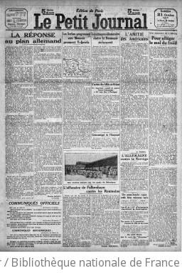 Le Petit journal (Paris. 1863)