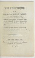 Image from Gallica about Marie-Louise (reine d'Espagne, 1751-1819)