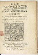 Illustration de la page Louis Jacob (1608-1670) provenant de Wikipedia