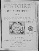 Illustration de la page Ordre de Fontevraud provenant de Wikipedia