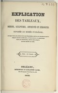 Bildung aus Gallica über Musée des beaux-arts. Orléans