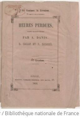 Heures perdues / retrouvées par A. Danis, D. Cacan et F. Salomé
