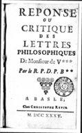 Illustration de la page Pierre-Franc̜ois Le Coq de Villeray de Rouer (1703-1778) provenant de Wikipedia
