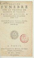 Image from Gallica about Sébastien Huré (15..-1650)