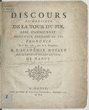 Illustration de la page Jacques-François-René de La Tour Du Pin de La Charce (1720-1765) provenant de Wikipedia