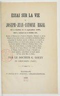 Illustration de la page Joseph-Jean Antoine Rigal (1797-1865) provenant de Wikipedia