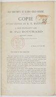 Bildung aus Gallica über Paul Bouchard (1814-18..)