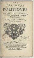 Illustration de la page Daniel de Priezac (1590-1662) provenant de Wikipedia
