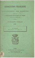 Illustration de la page Association française pour l'avancement des sciences. Congrès (017 ; 1888 ; Oran, Algérie) provenant de Wikipedia