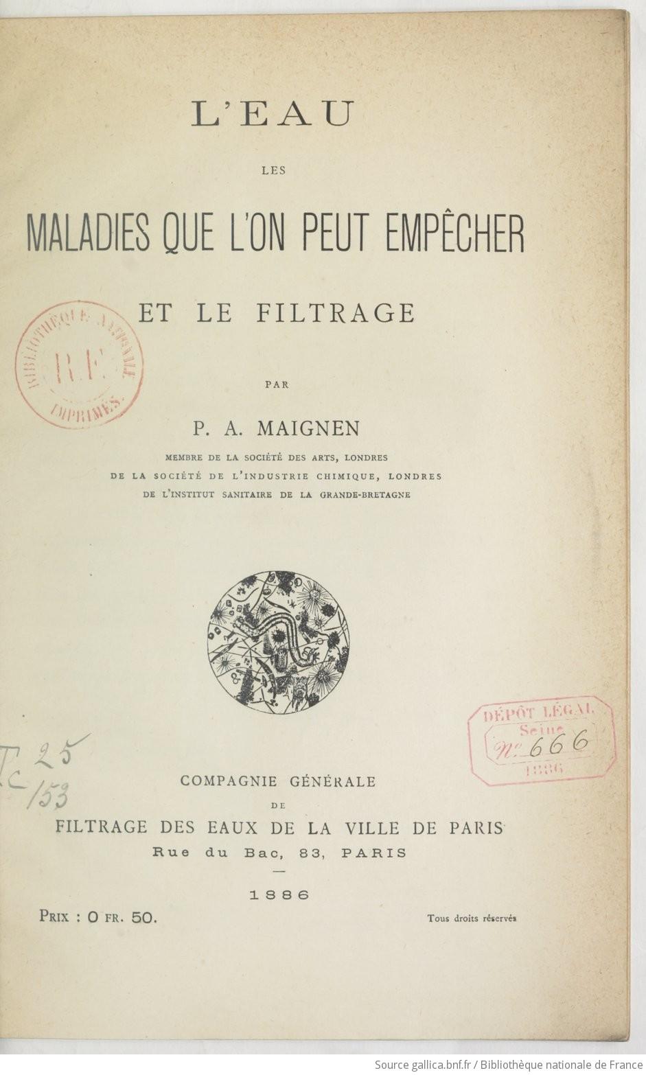 Ouvrages anciens : Les Breuvages .. F7