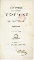 Histoire des guerres d'Espagne et de Portugal sous Napoléon  1831