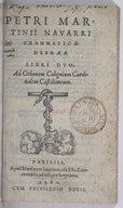 Bildung aus Gallica über Pierre Martini (1530?-1594)