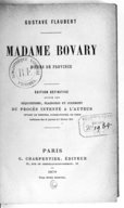 Image from Gallica about Madame Bovary