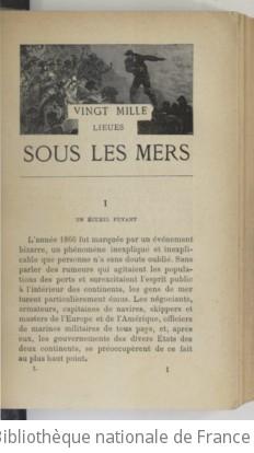 Vingt mille lieues sous les mers. Illustré de... dessins par de Neuville et Riou gravés par Hildibrand. Edition 43,Partie 1