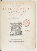 Image from Gallica about Henricus Regius (1598-1679)