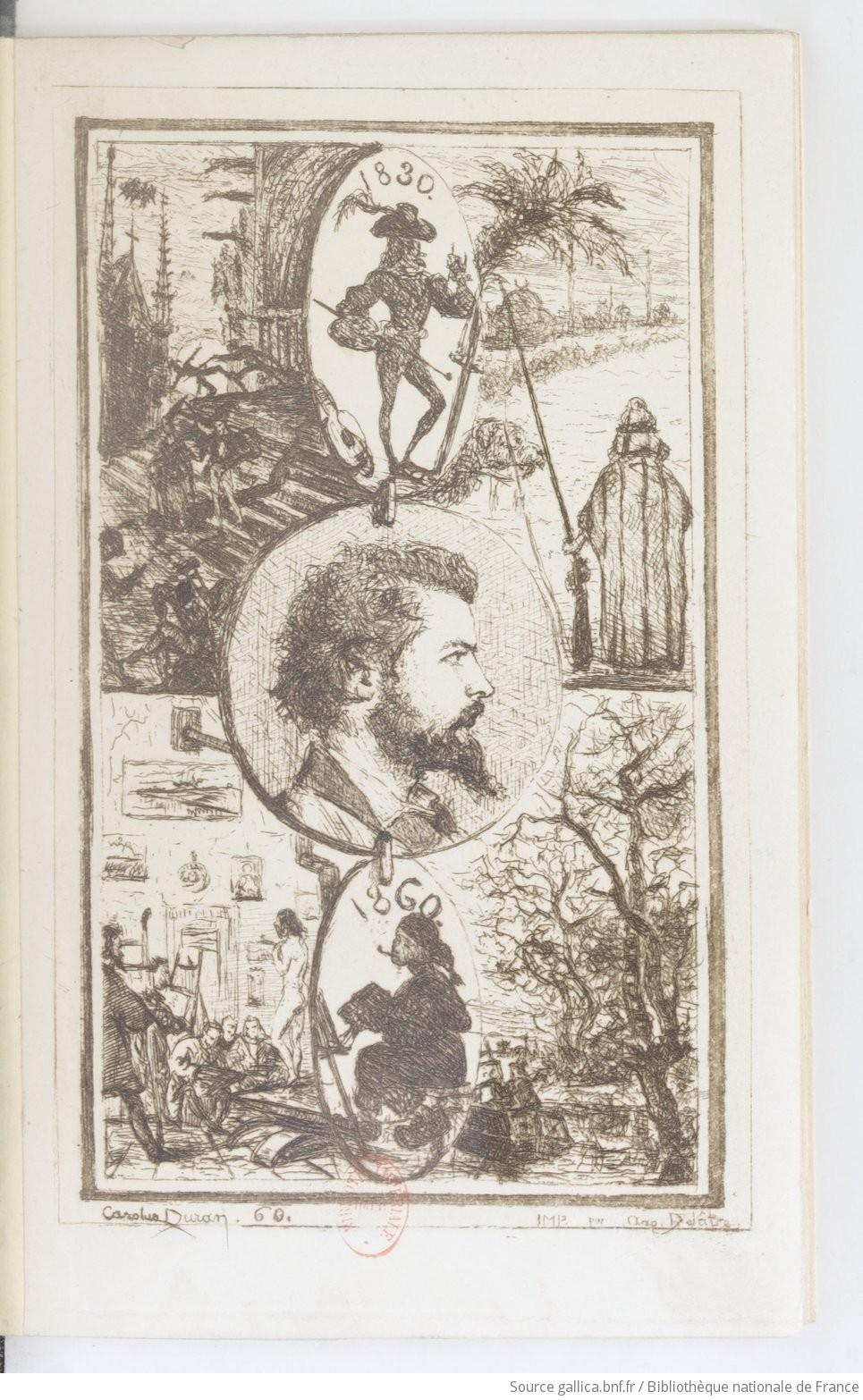 [Portrait d'Astruc] Carolus Duran. 60.