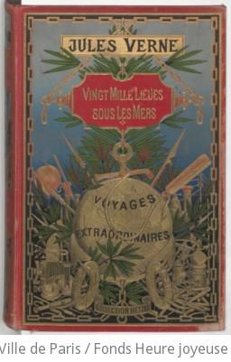 Vingt mille lieues sous les mers / Jules Verne ; ill. de 111 dessins par de Neuville, [et Riou] ; [gravés par Hildibrand]