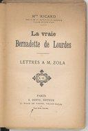 Image from Gallica about Bernadette Soubirous (sainte, 1844-1879)
