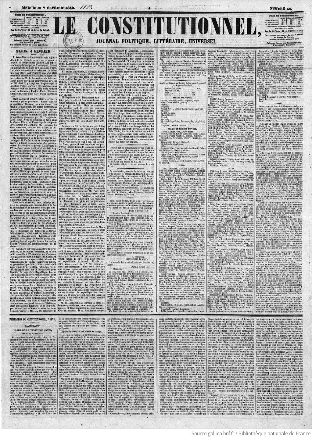 Pyrotech Salle De Bain ~ le constitutionnel journal du commerce politique et litt raire