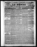 Le Monde  1860-1896
