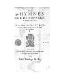 Image from Gallica about Hymnes