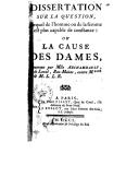 Illustration de la page Mademoiselle Archambault provenant de Wikipedia