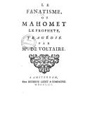 Bildung aus Gallica über Mahomet