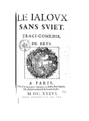 Image from Gallica about Charles de Beys (1610-1659)